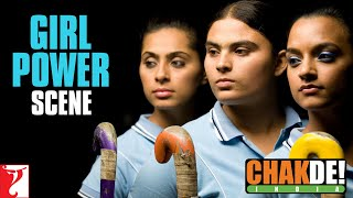 Chak De India- Fight Scene Girls Vs Boys
