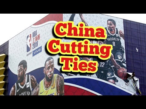 NBA's Chinese partners have cut ties with the league
