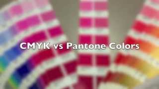 CMYK vs Pantone colors
