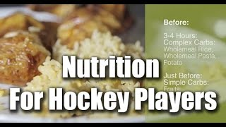 Nutrition For Hockey Players - What Should I Eat Before And After A Game Or Practice