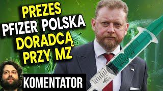 Prezes Pfizer Polska Doradcą Przy Ministerstwie Zdrowia Za Szumowskiego! Analiza Komentator Finanse