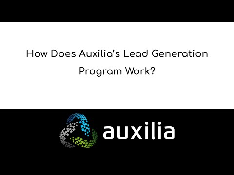 How Does Auxilia's Lead Generation Program Work?