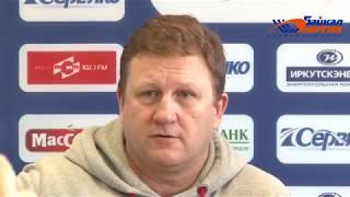 Пресс-конференция М. Юрьева и А. Рушкина