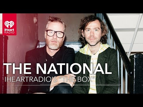 "The National Talks New Album 'I Am Easy To Find,' And More In iHeartRadio's ""The Box"""