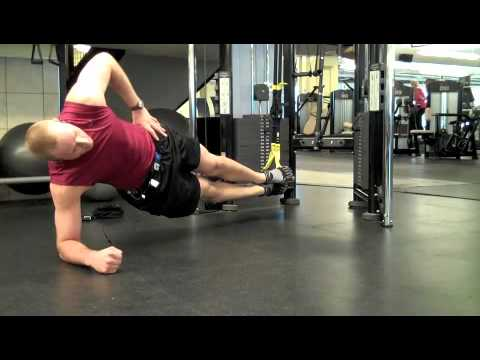 Self Made Exercise Index:  Suspended Side Bridge (TRX)