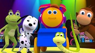 รถไฟบ๊อบเรียนเสียงสัตว์ต่างๆ | เนอสเซอรี่ไรม์ของรถไฟบ๊อบสำหรับเด็กเล็ก