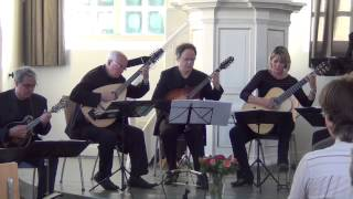 Urban Sketches, by Owen Hartford, performed by the New American Mandolin Ensemble