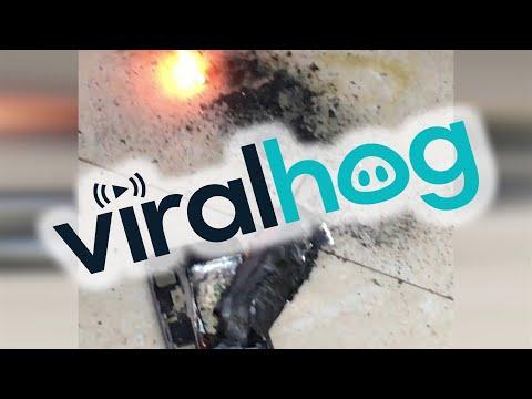 Мощный взрыв айфона испугал вьетнамцев
