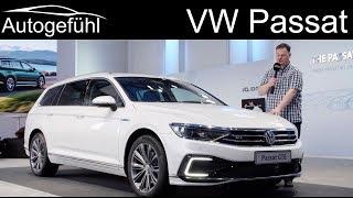 VW Passat B8 Facelift REVIEW R-Line vs Alltrack vs GTE 2019 2020 (EU version)