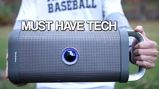 Must Have Tech #1: Big Blue Party Speaker! (Review + Giveaway)