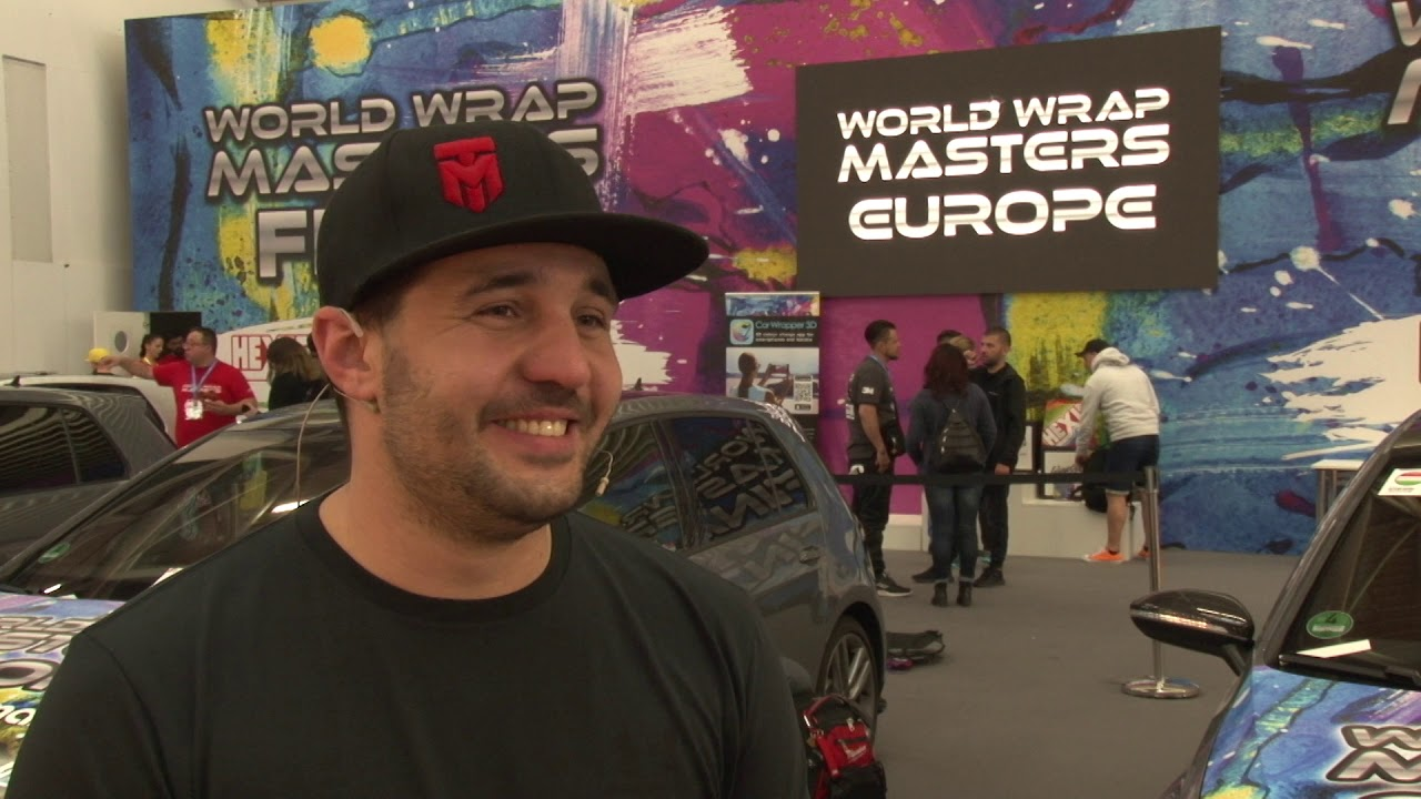 World Wrap Masters Europe 2019 2nd place winner, Traian Moldovan speaks to FESPA TV after his win at the Global Print Expo 2019.