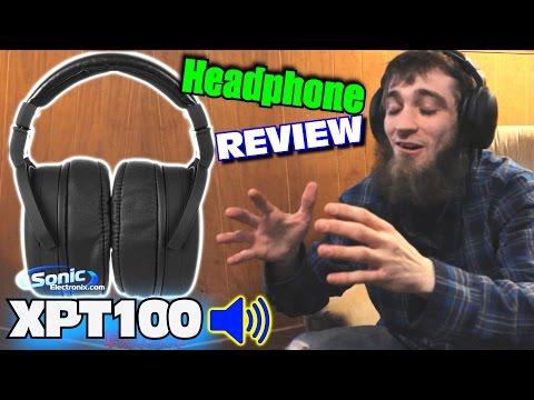 EXO Headphone Review w/ NVX XPT100 Studio Monitor Headphones | High Quality & Comfortable Sound