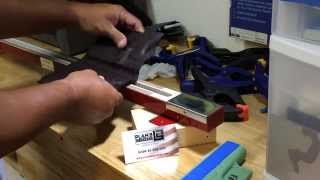 Bending Kydex holster