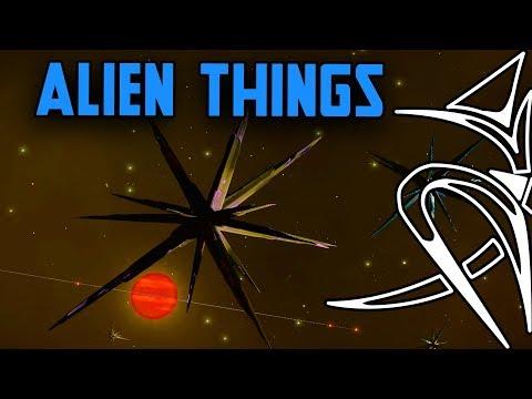 Alien things in Elite Dangerous