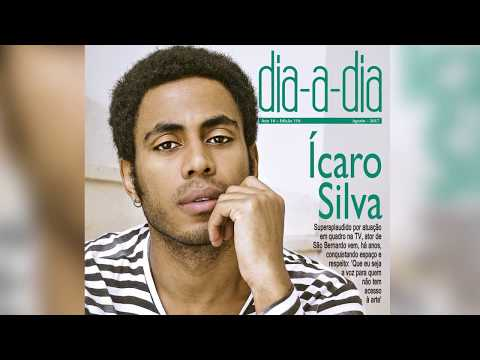 A revista Dia-a-Dia de agosto tem Ícaro Silva na capa