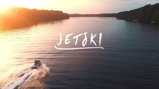 JETSKI at SUNSET Video Edit | DJI Drone | ste.krenn