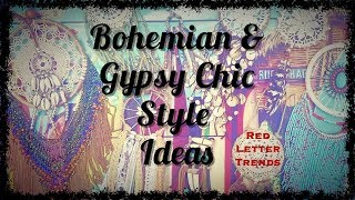 Boho/Gypsy Chic Style Ideas Compilation!