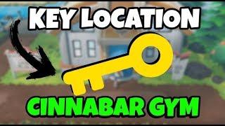 Cinnabar Island Gym Key Location | Pokemon Let's Go (Quick Guide)