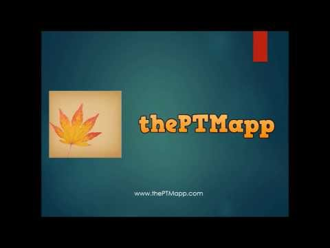 Video of thePTMapp