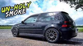 THIS CRAZY 360BHP 1.9 DIESEL GOLF IS *SHEER MADNESS*