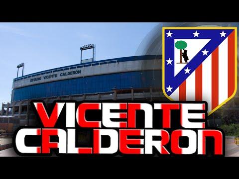 ATLETICO MADRID VICENTE CALDERON STADIUM