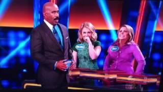 Crazy Answer On Family Feud  <b>Melissa Joan Hart </b>family