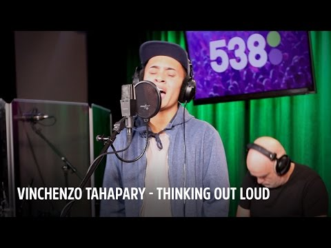 Vinchenzo Tahapary - Thinking Out Loud | Live bij Evers Staat Op | JB Productions