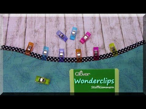 Wonderclips Stoffklammern von Clover