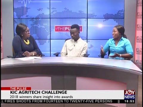 KIC Agritech Challenge - The Pulse on JoyNews (12-11-18)