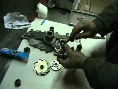 ремонт помпы Ford Taurus