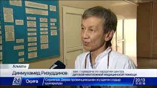Поиски водителя, сбившего 5-летнего мальчика в Алматы, продолжаются