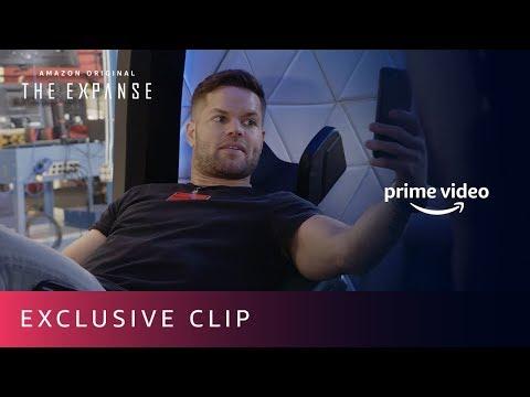 The Expanse - Blue Origin Cast Visit | Prime Video