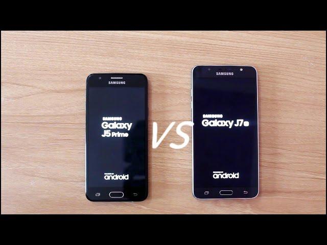 Samsung Galaxy J5 Prime Vs J7 2016