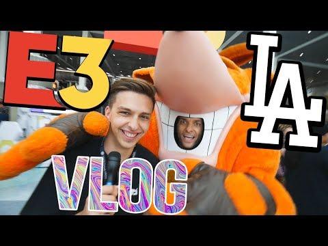 LA Vlog: MOJE PRVNÍ E3!