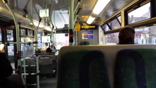 preview picture of video 'Journey on the 482 (SP19 YN08DHD) Scania Omnicity 10.8m'