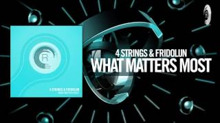 4 Strings & Fridolijn - What Matters Most FULL (RNM)