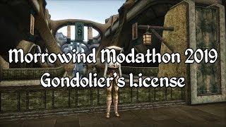 Morrowind Modathon 2019 - Gondoliers License Showcase
