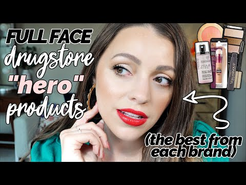 "DRUGSTORE ""HERO"" MAKEUP PRODUCTS / The BEST from each brand"