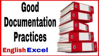 Good Documentation Practice in Pharma industry । GDP