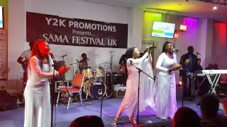 Fungisai Nguva Yekutenfa live from London  sama festival  2017