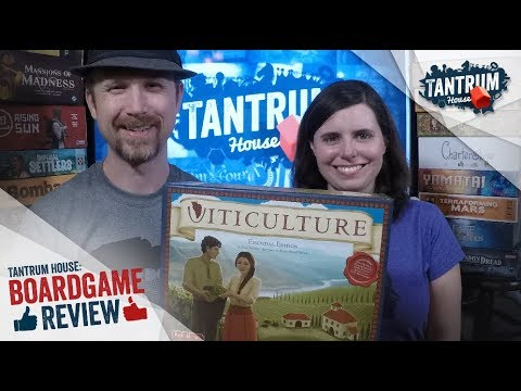 Viticulture EE Board Game Review