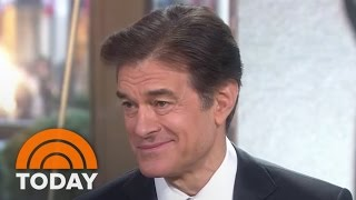 Dr. Oz Teaches Testicular Cancer Self-Check At Home In 3 Easy Steps   TODAY