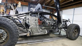Off-Road Lamborghini Huracan gets Steering! IT CAN TURN!