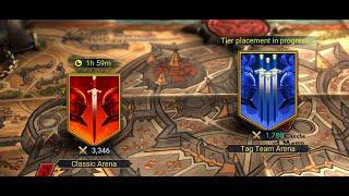 RAID SHADOW LEGEND PC TAG TEAM ARENA | FULL Gameplay HD 60fps