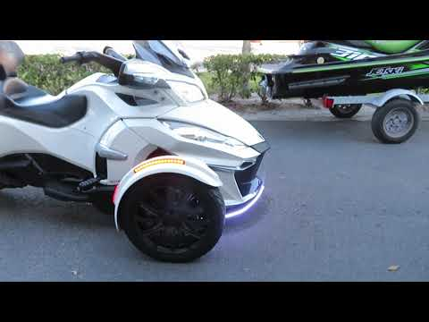 2016 Can-Am Spyder RT-S SE6 in Sanford, Florida - Video 1