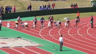 平成29年度福井県高校総体陸上男子100m決勝