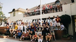 A DAY AT MY FRAT HOUSE