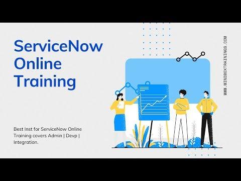 ServiceNow Online Training   ServiceNow Tutorials   MindBox ...