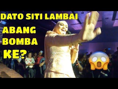 YOUTUBE FESTIVAL 2019   DATO SITI NURHALIZA LAMBAI ABANG CELORENG BOMBA??  