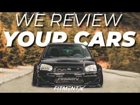 Reviewing YOUR Cars In Our Gallery! Ep. 3